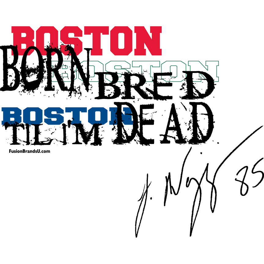 Boston Born Logo for Jermaine Wiggins