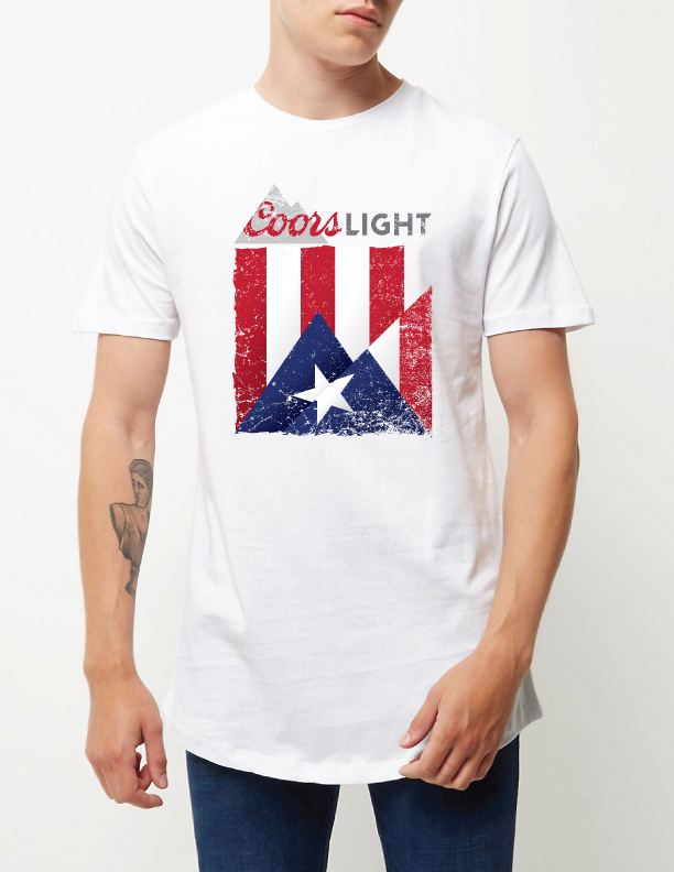 Coors Light PR Parade Tees